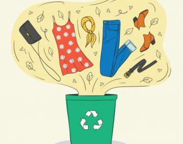 ilustracion-color-estilo-sobre-reciclaje-ropa-zapatos-viejos-ropa-mujeres-vuela-basura_156811-144
